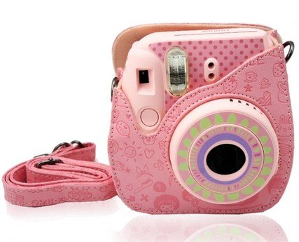 Pink Instax Mini 8 case